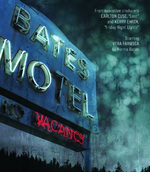 Photo Flash: Teaser Artwork for New A&E Series BATES MOTEL