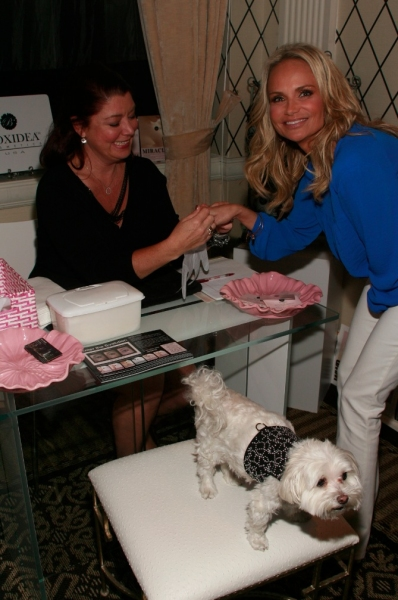Kristin Chenoweth at Kristin Chenoweth, Montego Glover and Chita Rivera Get Pampered at Allure Beauty Lounge!