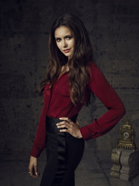 Nina Dobrev as Elena at First Look at Sexy Season 4 Cast Shots for THE VAMPIRE DIARIES!