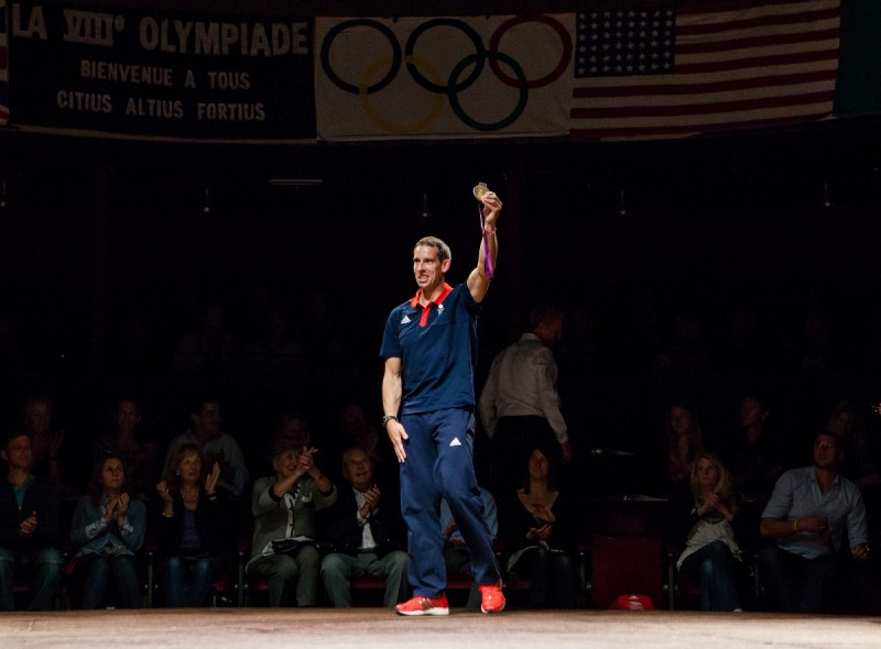 Photo Flash: 2012 Olympic Team Great Britain Attends CHARIOTS OF FIRE Gala Performance