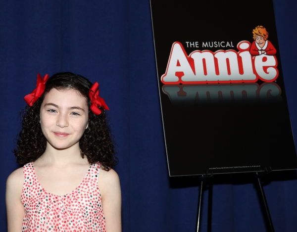 Photo Coverage: Cast of Broadway-Bound ANNIE Meets the Press!
