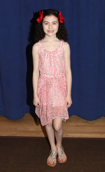 Lilla Crawford at Cast of Broadway-Bound ANNIE Meets the Press!