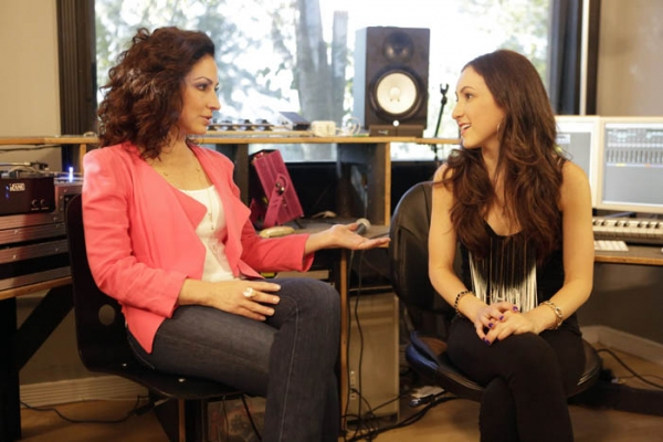 Gloria Estefan and Angela Mukul