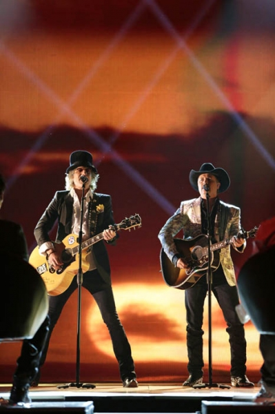 Big Kenny and John Rich of Big & Rich at THE NEXT LOS ANGELES - September 20 - Gloria Estefan, John Rich, Joe Jonas & More!