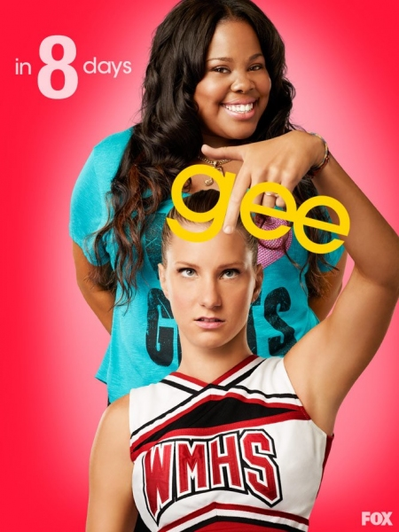 Amber Riley, Heather Morris at GLEE Premieres Tomorrow- Countdown to Season 4!