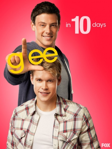 Cory Monteith, Chord Overstreet at GLEE Premieres Tomorrow- Countdown to Season 4!