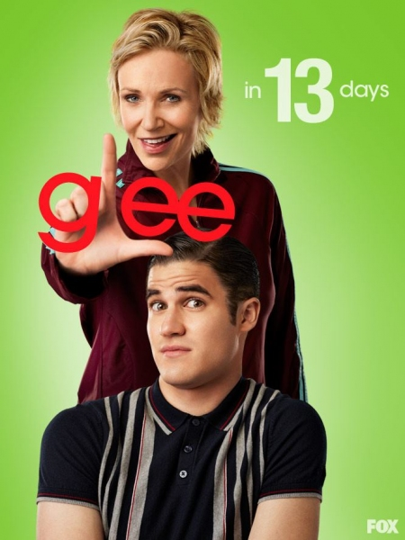 Jane Lynch, Darren Criss at GLEE Premieres Tomorrow- Countdown to Season 4!