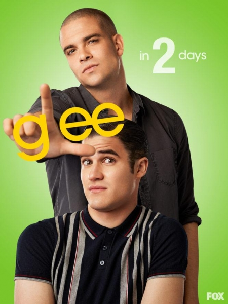 Mark Salling, Darren Criss at GLEE Premieres Tomorrow- Countdown to Season 4!