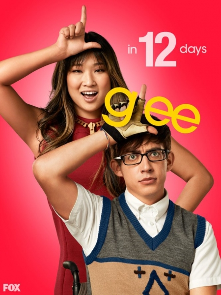Jenna Ushkowitz, Kevin McHale at GLEE Premieres Tomorrow- Countdown to Season 4!