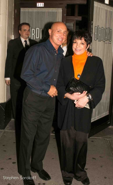 Gianni Valenti and Liza Minnelli at Liza Minnelli, Marilyn Maye and More at Jim Caruso's Cast Party at Birdland, 9/10