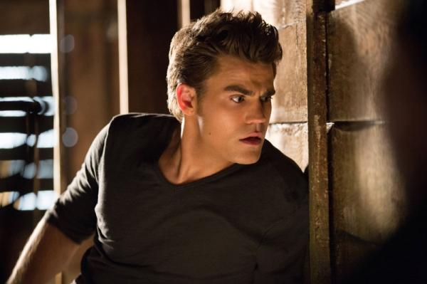 Paul Wesley as Stefan at First Look at the Season 4 Premiere of THE VAMPIRE DIARIES!