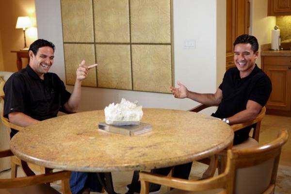 Mario Lopez and Mark Sanchez