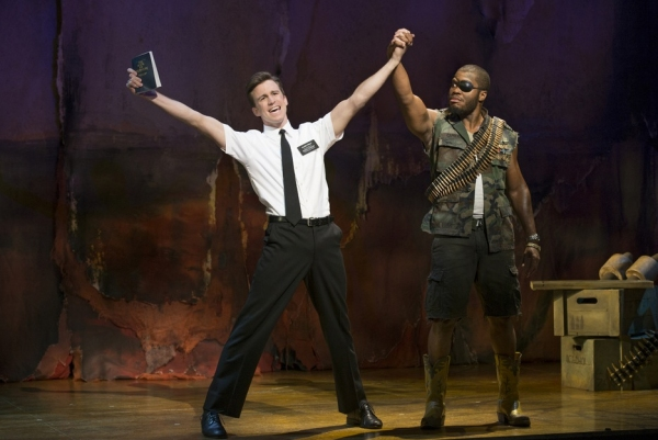 Gavin Creel and Derrick Williams at THE BOOK OF MORMON Opens Tonight in LA - See Gavin Creel, Jared Gertner and More in Performance!