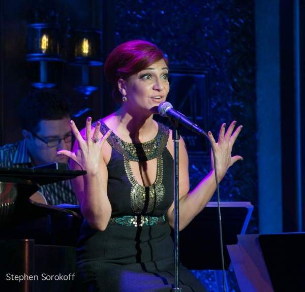 Shoshana Bean at Jason Robert Brown & Shoshana Bean Perform at 54 Below