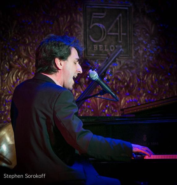 Photo Coverage: Jason Robert Brown & Shoshana Bean Perform at 54 Below