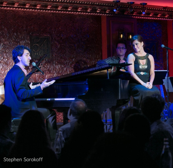 Jason Robert Brown & Shoshana Bean at Jason Robert Brown & Shoshana Bean Perform at 54 Below