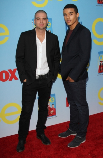 Mark Salling and Jacob Artists at Lea Michele, Kate Hudson & More at GLEE Season 4 Screening