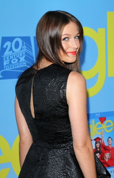 Melissa Benoist at Lea Michele, Kate Hudson & More at GLEE Season 4 Screening