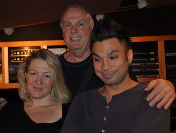 Lynn Pinto (Producer), Norman Weiss (Musical Director) and Andros Rodriguez (Engineer)