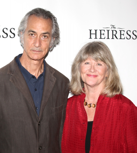 David Strathairn & Judith Ivey at Jessica Chastain and THE HEIRESS Cast Meets the Press!