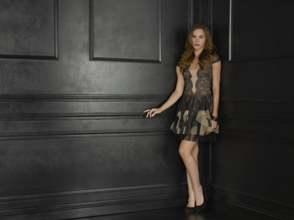 Christa B. Allen as Charlotte Grayson at Meet the Season 2 Cast of REVENGE on ABC!