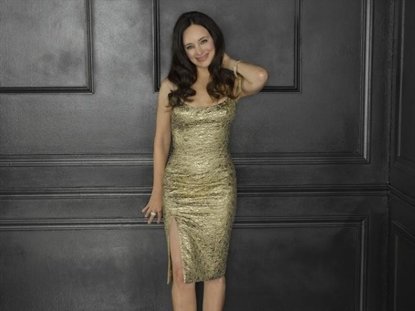 Madeleine Stowe as Victoria Grayson at Meet the Season 2 Cast of REVENGE on ABC!