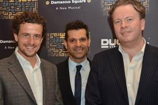Photo Flash: Etai BenShlomo, Tovah Feldshuh at DAMASCUS SQUARE Premiere