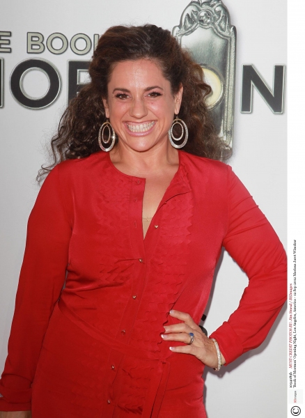 Mandatory Credit: Photo by Jim Smeal / BEImages (1094089b)Marissa Jaret Winokur'Book of Mormon' Opening Night, Los Angeles, America - 12 Sep 2012 at The Stars Come Out in LA for THE BOOK OF MORMON Opening Night Red Carpet