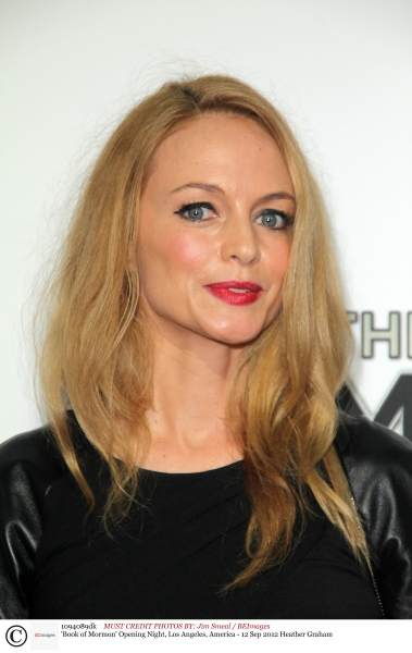 Mandatory Credit: Photo by Jim Smeal / BEImages (1094089dk)Heather Graham'Book of Mor Photo