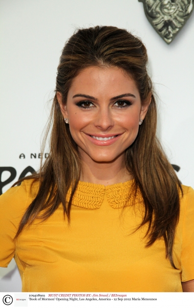 Mandatory Credit: Photo by Jim Smeal / BEImages (1094089ea)Maria Menounos'Book of Mormon' Opening Night, Los Angeles, America - 12 Sep 2012