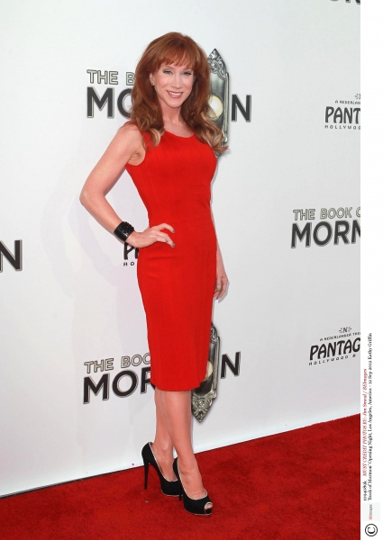 Mandatory Credit: Photo by Jim Smeal / BEImages (1094089k)Kathy Griffin'Book of Mormon' Opening Night, Los Angeles, America - 12 Sep 2012