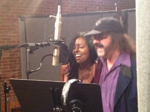 Adrienne Warren and Doug Katsaros