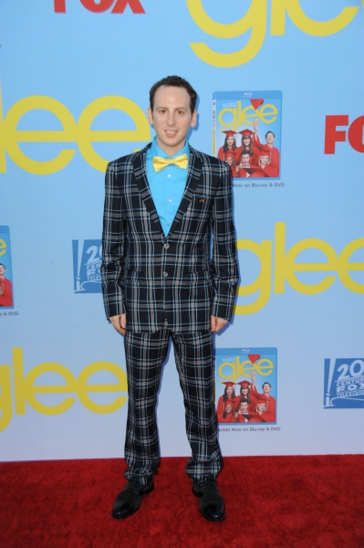 GLEE SEASON FOUR PREMIERE SCREENING AND VIP RECEPTION: Cast member Josh Sussman arrives on the red carpet for the GLEE SEASON FOUR PREMIERE SCREENING AND VIP RECEPTION on Weds. Sept. 12 at Paramount Studios in Hollywood, CA. CR: Scott Kirkland/FOX