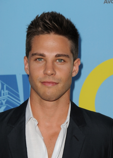 GLEE SEASON FOUR PREMIERE SCREENING AND VIP RECEPTION: New cast member Dean Geyer arrives on the red carpet for the GLEE SEASON FOUR PREMIERE SCREENING AND VIP RECEPTION on Weds. Sept. 12 at Paramount Studios in Hollywood, CA. CR: Scott Kirkland/FOX