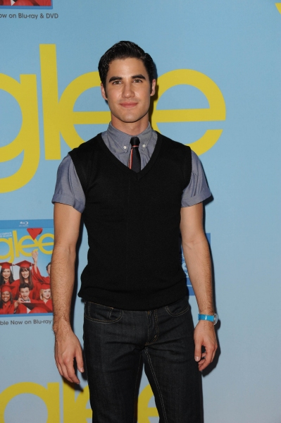 GLEE SEASON FOUR PREMIERE SCREENING AND VIP RECEPTION: Cast member Darren Criss arrives on the red carpet for the GLEE SEASON FOUR PREMIERE SCREENING AND VIP RECEPTION on Weds. Sept. 12 at Paramount Studios in Hollywood, CA. CR: Scott Kirkland/FOX at GLEE Season Four Premiere Red Carpet Arrivals - Lea Michele, Kate Hudson, Darren Criss and More!