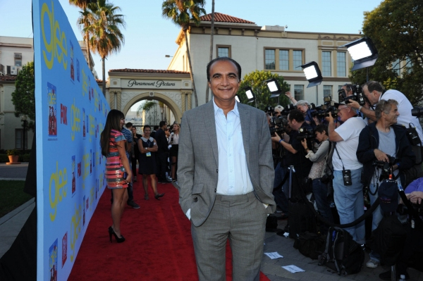 GLEE SEASON FOUR PREMIERE SCREENING AND VIP RECEPTION: Cast member Iqbal Theba arrives on the red carpet for the GLEE SEASON FOUR PREMIERE SCREENING AND VIP RECEPTION on Weds. Sept. 12 at Paramount Studios in Hollywood, CA. CR: Vince Bucci/FOX at GLEE Season Four Premiere Red Carpet Arrivals - Lea Michele, Kate Hudson, Darren Criss and More!