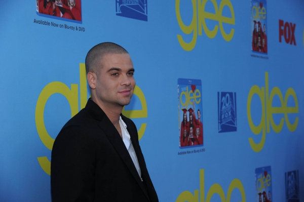 GLEE SEASON FOUR PREMIERE SCREENING AND VIP RECEPTION: Cast member Mark Salling arrives on the red carpet for the GLEE SEASON FOUR PREMIERE SCREENING AND VIP RECEPTION on Weds. Sept. 12 at Paramount Studios in Hollywood, CA. CR: Vince Bucci/FOX