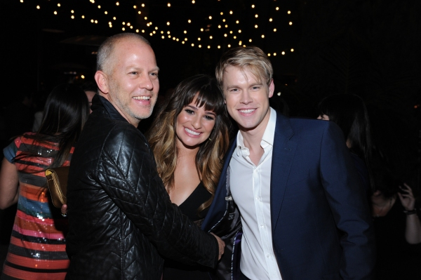 GLEE SEASON FOUR PREMIERE SCREENING AND VIP RECEPTION: GLEE Creator and Executive Producer Ryan Murphy and cast members Lea Michele and Chord Overstreet celebrate at the GLEE SEASON FOUR PREMIERE SCREENING AND VIP RECEPTION (L-R): Jenna Ushkowitz and Bec