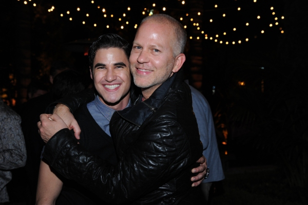 GLEE SEASON FOUR PREMIERE SCREENING AND VIP RECEPTION: GLEE Creator and Executive Producer Ryan Murphy and cast member Darren Criss celebrate at the GLEE SEASON FOUR PREMIERE SCREENING AND VIP RECEPTION (L-R): Jenna Ushkowitz and Becca Tobin on Weds. Sep