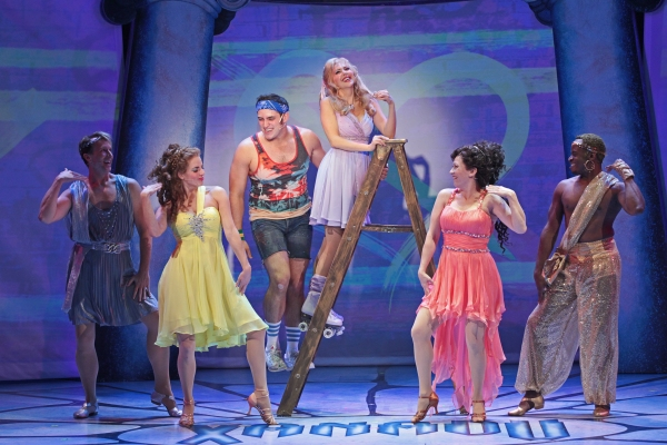 Photo Flash: Gina Milo, Chris Critelli and More in XANADU, Opening at Drury Lane Tonight, 9/13