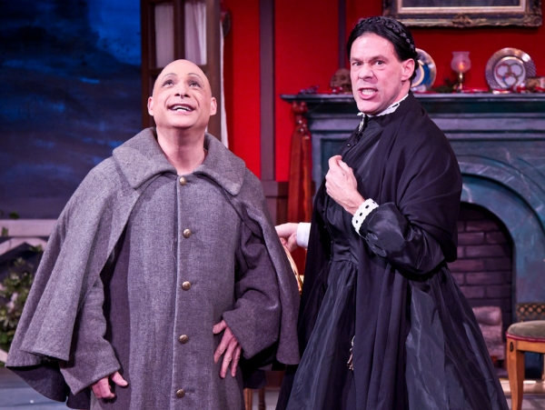 Jamie Torcellini (Billy Elliot, Cats, Man of La Mancha, Beauty and the Beast) as Nicodemus Underwood and Joseph Fuqua (The Tempest, Hamlet, Doubt, All My Sons) as Jane Twisden. The Mystery of Irma Vep is nominated for an Ovation Award for Best Production
