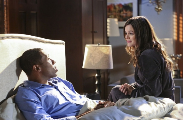 Cress Williams, Rachel Bilson at Rachel Bilson & More in The CW's HART OF DIXIE
