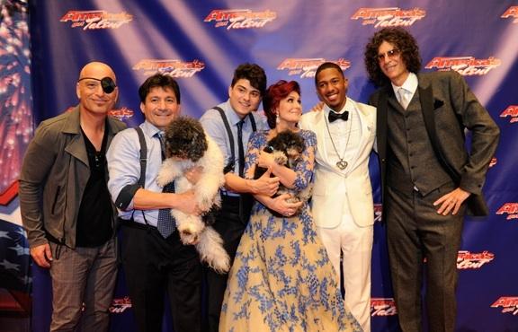 Howie Mandel, AGT Winners, Sharon Osbourne, Nick Cannon, Howard Stern