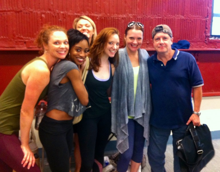 BWW Blog: Stephanie Martignetti of Broadway's NICE WORK IF YOU CAN GET IT - New Shirt!