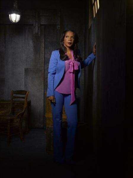 Penny Johnson Jerald as NYPD Captain Victoria Gates Photo