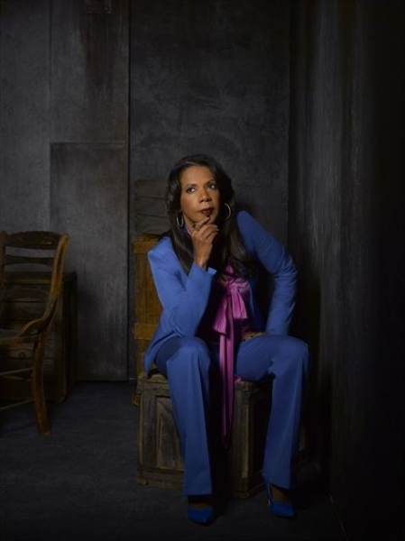 Penny Johnson Jerald as NYPD Captain Victoria Gates at Meet the Cast of CASTLE on ABC!