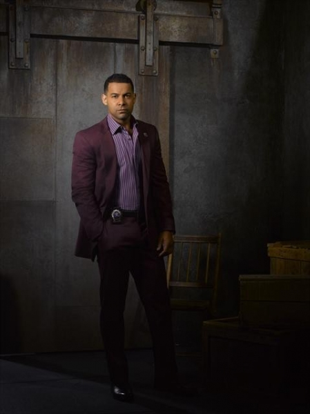 Jon Huertas as NYPD Detective Javier Esposito at Meet the Cast of CASTLE on ABC!