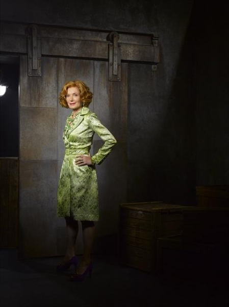 Susan Sullivan as Martha Rodgers at Meet the Cast of CASTLE on ABC!