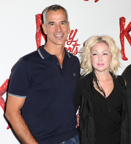 Director Jerry Mitchell, Cyndi Lauper (Music) at Harvey Fierstein, Cyndi Lauper and the KINKY BOOTS Cast Meet the Press - Check it Out!