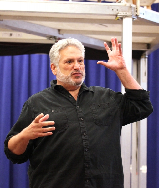 Harvey Fierstein at Extra Fierce KINKY BOOTS Press Preview - Cyndi Lauper, Harvey Fierstein, Stark Sands, Billy Porter & More!